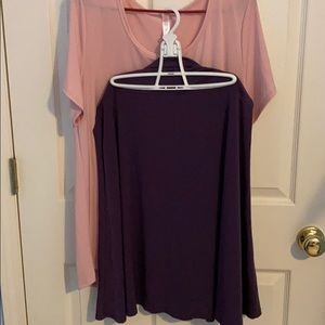 LuLaRoe Azure Plum Skirt